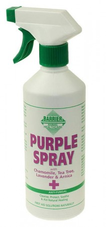 Barrier lilla spray for pleie