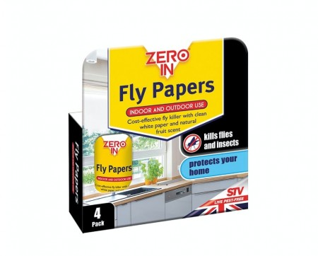 Zero in Fly Papers